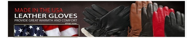 Made in the USA Leather Gloves